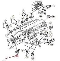 PHAETON 3D Light Multiple Switch 3D0941531LKA4 NEW GENUINE