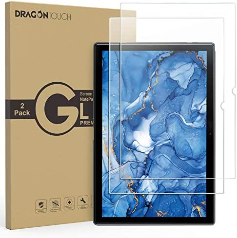 Dragon Touch Tablet Screen Protector 2 Pack for NotePad 102 and NotePad T10M Tablet Tempered product image