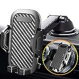 車載ホルダー 車載携帯ホルダー 携帯電話ラック カーブラケットスマー スマートフォンスタンド 360度回転 車載ホルダー 機械式 伸縮アーム 2in1 ム吸盤は2つのギアに分けることができます/角度は自由に調整可能 粘着ゲル吸盤 エアコン吹き出し口式兼用 車携帯スタンド 吸盤携帯スタンド 着脱簡単 (model 16)