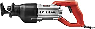 SKILSAW SPT44A-00 13 Amp Reciprocating Saw with Buzzkill Tech, Red