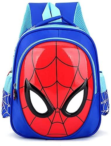 Kleinkind-Rucksack, Kinderrucksack für Jungen, Spiderman-Rucksack für Kinder, wasserdichte Taschen (2-4 Jahre alt), Machen Sie Ihr Kind im Kindergarten Besser (Spiderman 2,ONE Size)