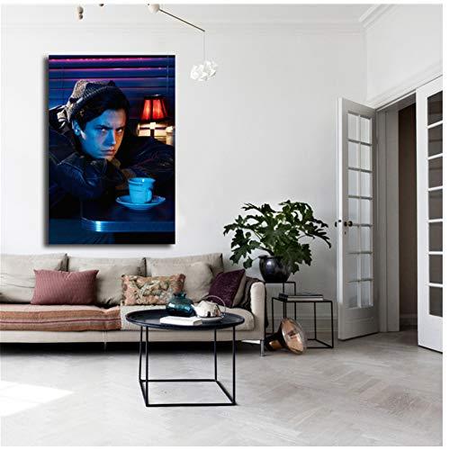 A&D Jughead Jones Riverdale HD canvas schilderij druk woonkamer wooncultuur moderne kunst schilderij poster foto's -60x84cmx1pcs- geen lijst