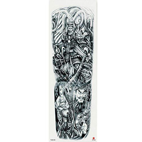 7pcs impermeable etiqueta engomada del tatuaje del brazo pedazo de flor pegatina patrón de tatuaje barato diosa de reloj de arena