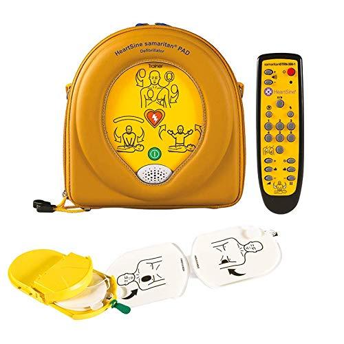 MedX5 (Upgrade 2020) halbautomatischer Trainingsdefibrillator mit HLW und Herzdruckmassage Anweisungen, Übungsdefibrillator PAD 500P, Defibrillator für Trainer, Ausbilder, Schulen