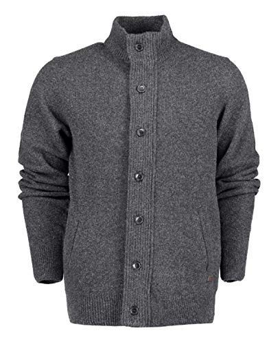 Barbour Cardigan Uomo Pach Zip Thru mkn Bamag0435 ch51 Charcoal AI19 S