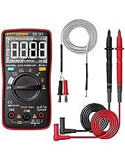 Baugger Aneng An113D digitale multimeter, elektrisch meetapparaat, 6000 counts, CC/Ca, spanningsmeter, echtheidsmeter, automatisch bereik