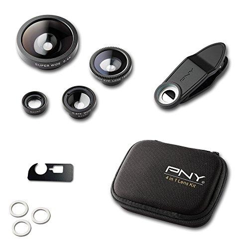 PNY 4 IN 1 LENS KIT Objektive für Smartphones