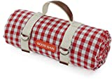 Good Gain Waterproof Picnic Blanket Portable with Carry Strap for Beach Mat or