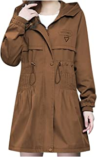 Benficial Women's Winter Fashion Women's Coat Solid Color Long-Sleeved Windshield Coat Cardigan