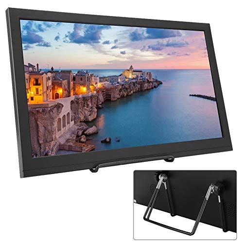15,6-Zoll-HDMI-Monitor, tragbarer 1920: 1080 16: 9-IPS-Vollbild-Bildschirmmonitor, Dual-HDMI-Monitor, Exklusives Display für die Raspberry Pi-Serie, PS3, PS4, X-Box 360, Apple Mac(EU-Stecker)