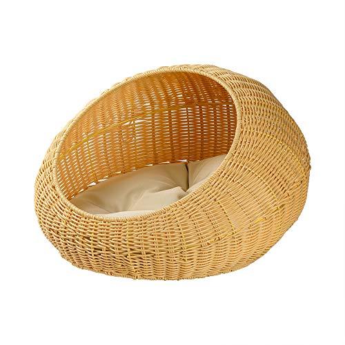 XYQ cat Woven nest (Cream)