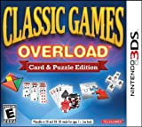 Classic Games Overload: Card & Puzzle Edition - 3DS by Telegames