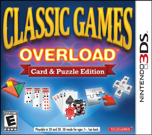 Classic Games Overload: Card amp Puzzle Edition  3DS