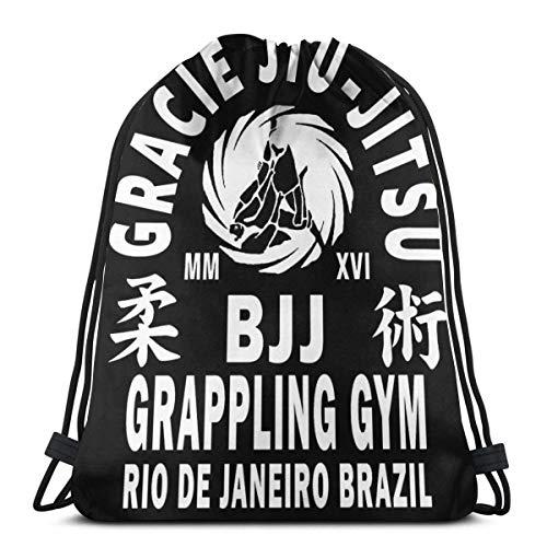 LAKILAN Mochila Deportiva,Mochila Grande,Saco De Yoga,Vbolsos De Gimnasio,Bolsa De Saco De Gimnasia Gracie Jiu Jitsu