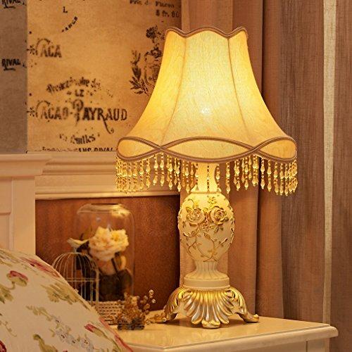 Bonne chose lampe de table Européen - Lampadaire de style Lampe de mariée de luxe Simple jardin moderne Cuisine créative Chambre à coucher chaude Lampe de chevet