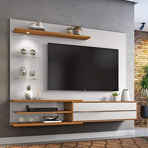 Painel Para Tv Até 60 Polegadas 1,80m Trend Com Lâmpada Led