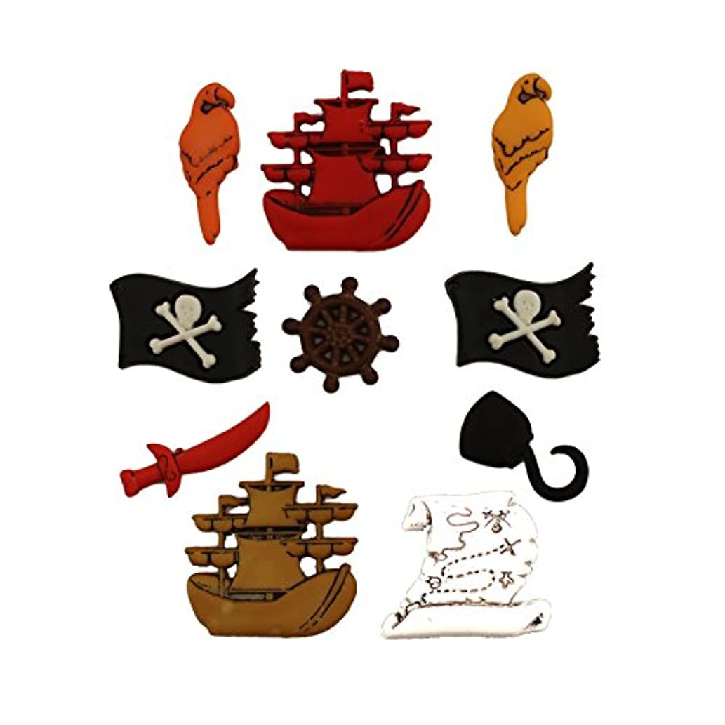 Buttons Galore Assorted Fairy Tale Collection A Pirates Life Buttons