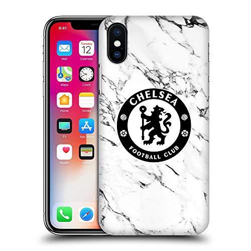 CHELSEA FC チェルシーFC - White Marble ハード case/iPhoneケース 【公式/オフィシャル】