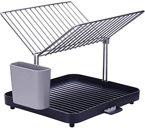 Suministros de Cocina de conveniencia Rejilla de Drenaje para Platos en Y/Rejilla para Platos/Estante Estante Duradero