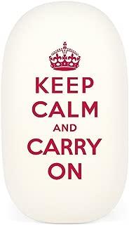 Cavallini & Co. Keep Calm & Carry On Oval Eraser