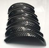AMT Custom Designs 2PC LS1 Hydro Carbon Fiber Intake/Plenum Cover, Compatible with 97-04 C5 Corvette