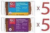 Peaceful Squirrel Variety, GG Scandinavian Crispbread Thins, Pack of 10 ( 2 Flavors: Original and Raisins & Honey)