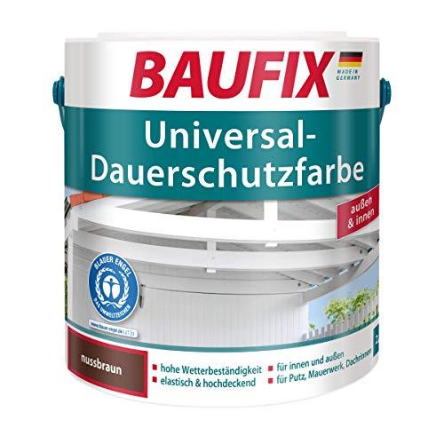 BAUFIX  Universal-Dauerschutzfarbe 2,5 L Dispersionslack Braun