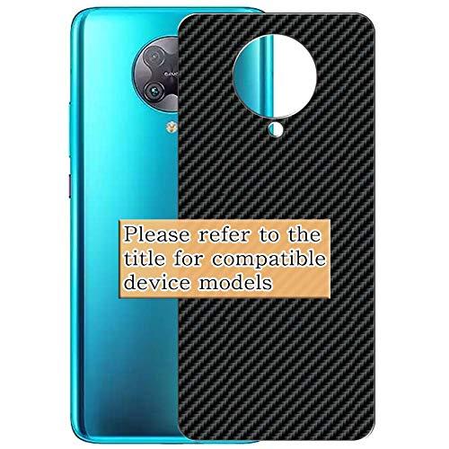 VacFun 2 Piezas Fibra de carbono negra Protector de pantalla Posterior, compatible...