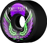 Powell-Peralta Bombers 60mm 85A Black Skateboard Wheels