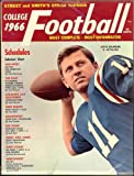 Street & Smith's College Football Guide 1966 (Steve Spurrier University of Florida Cover)