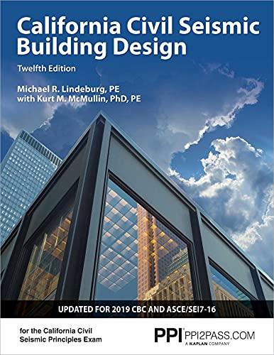 PPI California Civil Seismic Building Design, 12th Edition – Comprehensive Guide on Seismic Design
