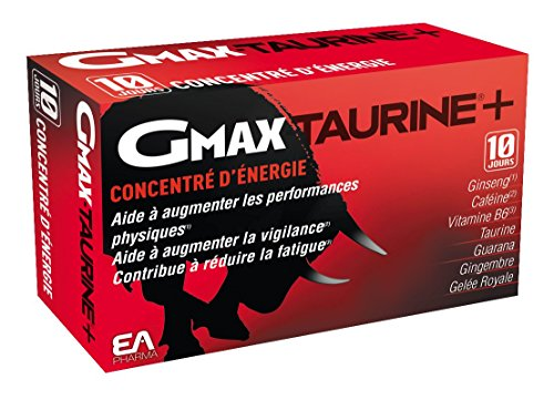 GMAX Taurine Ginseng 30 Ampoules