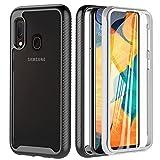 OWKEY Coque Compatible avec Samsung Galaxy A20e, qualité Militaire, 360 degrés Antichoc...