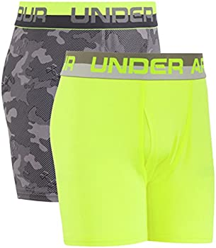 2-Pack Under Armour Boys Performance Boxer Briefs