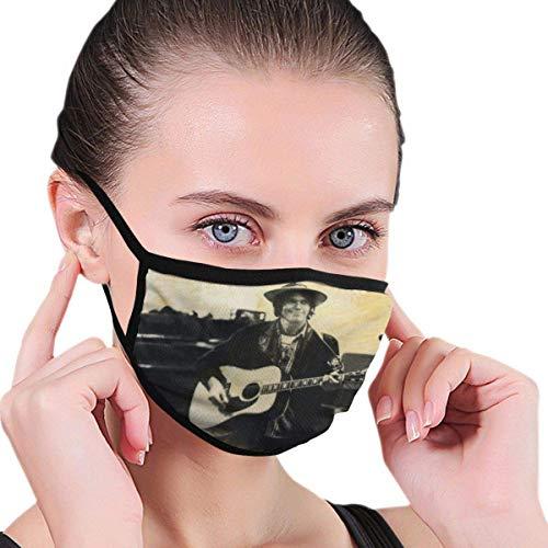Neil Young Crazy Horse Comes A Time Unisex con Filtro Antipolvo Lavable Reutilizable Boca Cubierta Facial Resistente al Viento con pasamontañas Ajustable Cubierta Facial Facial