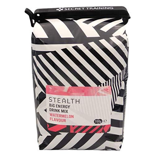 Stealth Big Energy Drink | Isotonisch poeder voor training | Veganistisch en glutenvrij | Watermeloen Smaak | 700g