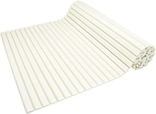 ガオナ これカモ シャッター式風呂フタ 取替用 幅75×長さ170cm (コンパクト 軽量 アイボリー) GA-FR023