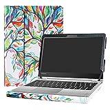 Alapmk Protective Case Cover for 11.6' Lenovo Yoga 710 11 710-11IKB 710-11ISK Laptop(Warning:Not fit Yoga 710 14 & 15.6/Yoga 720/Yoga 700/Yoga 730),Love Tree