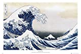 GB eye LTD FA0087, Hokusai, Wave, Maxi poster 61 x 91,5 cm, carta, multicolore, 65 x 3,5 x 3,5 cm