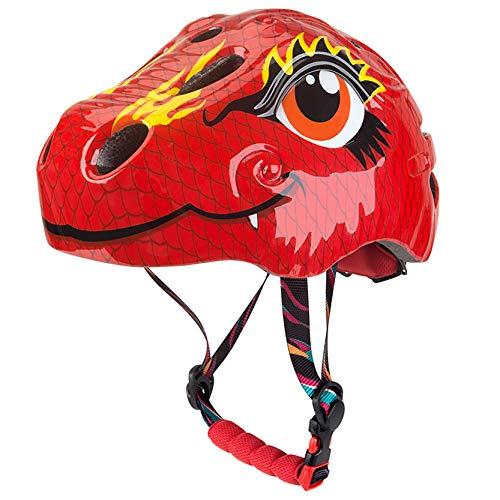 LHWQAN Casco de Bicicletas para niños de Dinosaurios, Casco de Ciclo para...