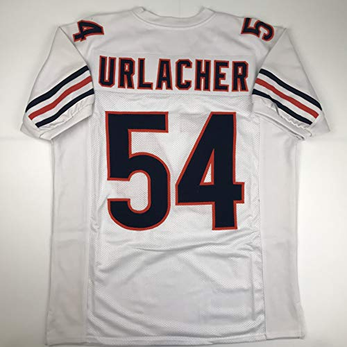 Unsigned Brian Urlacher Chicago White Custom Stitched Football Jersey Size Men's XL New No Brands/Logos