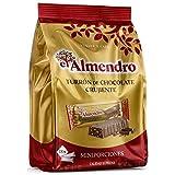 El Almendro - Porciones de Turrón de Chocolate Crujiente 400g
