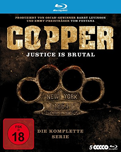 Copper - Justice Is Brutal - Die komplette Serie [Blu-ray]