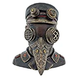 Dark Dreams Gothic Steampunk Dose Büste Versteck Steamdoctor Rabenmaske Figur Kopf
