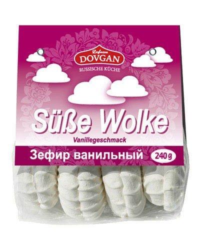 Süße Wolke, Sefir, Schaumzuckerware Mit Vanillegeschmack, 240g