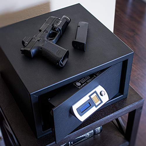 Verifi Smart Safe S5000 Biometric Gun Safe with Fingerprint Lock Security for Home or Business Storage of Pistols, Money and Jewelry