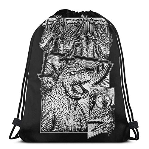 WH-CLA Drawstring Backpack Bags,Inky Black Cat Drawstring Bags Waterproof Gym Bag Colorful Sackpack Backpack Foldable Sack Drawstring For Girls And Boys