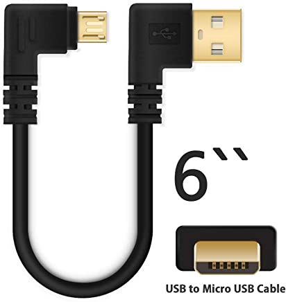 Gimax Mini USB 5Pin to USB Female Host OTG Cable With USB Power for Tablet MP4 phone,2pcs,