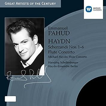 Haydn: Scherzandi Nos. 1-6 & Flute Concerto