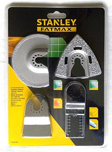 STANLEY STA26160-XJ Juego de 4 piezas para azulejos para multi-herramienta oscilante